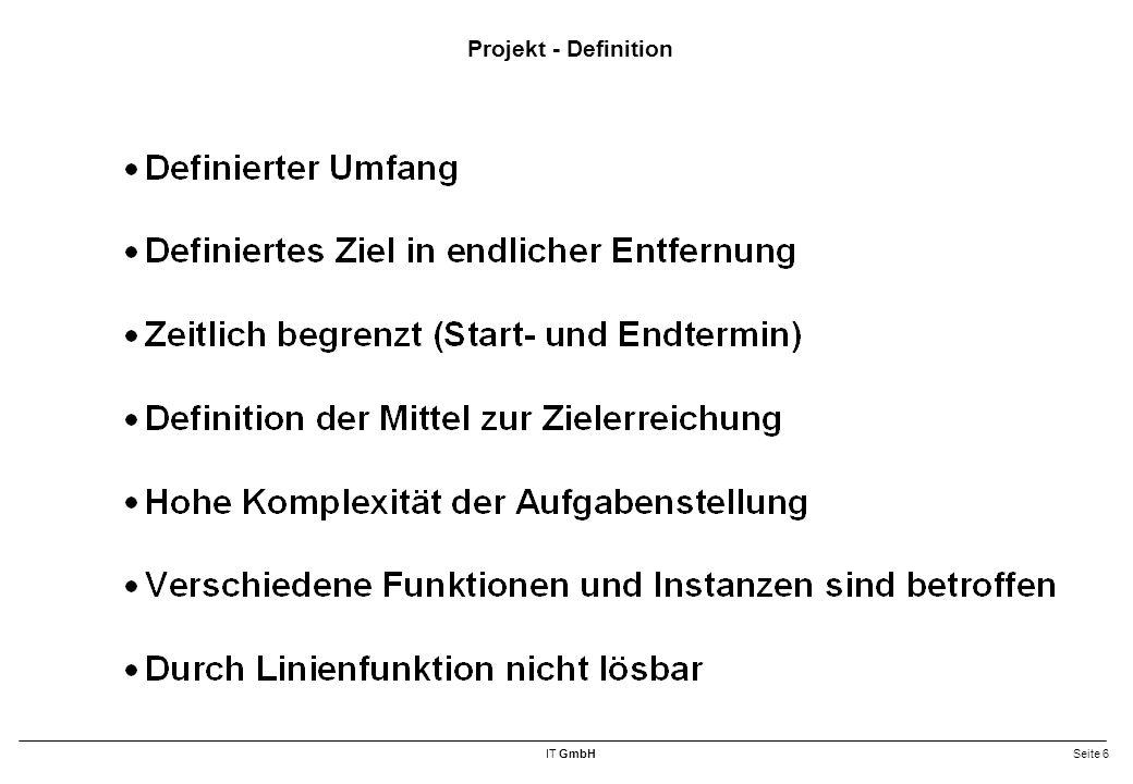 Projekt - Definition