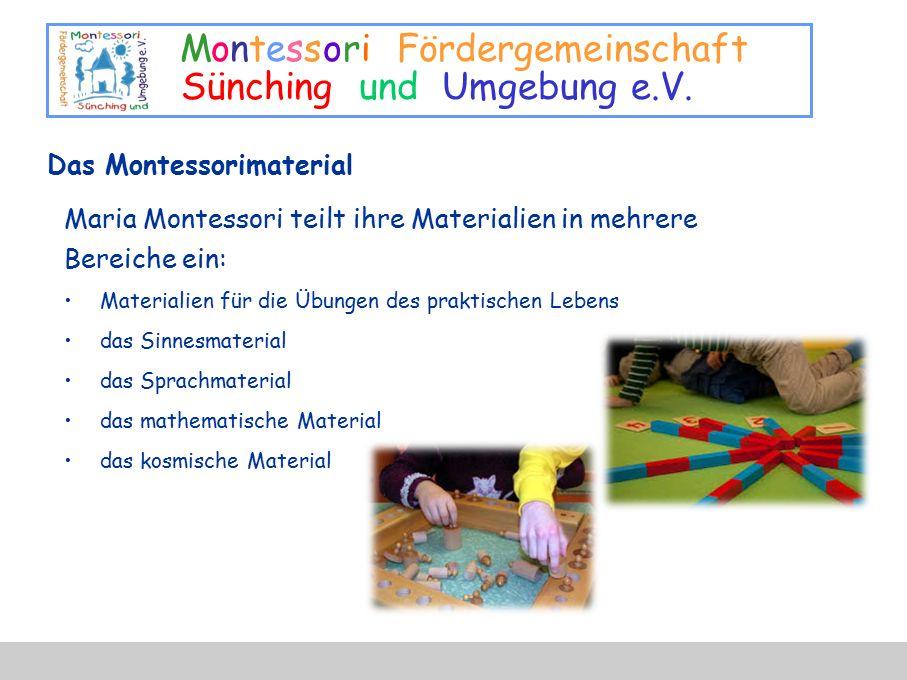 Das Montessorimaterial