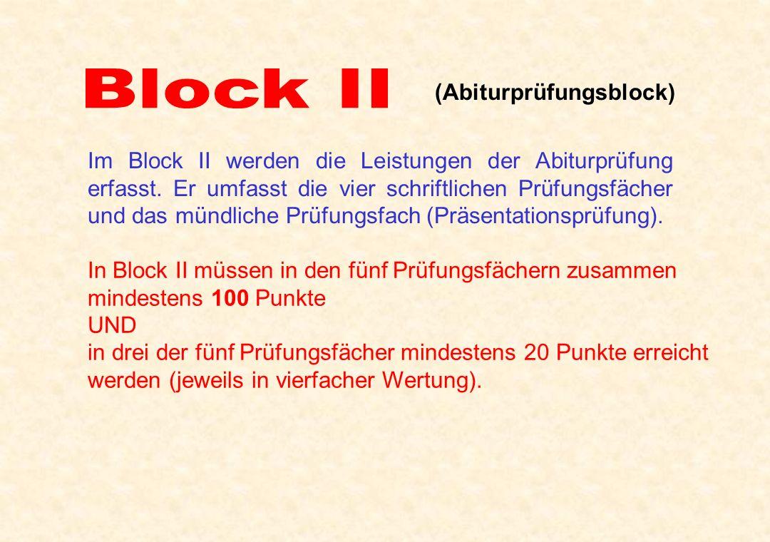 (Abiturprüfungsblock)