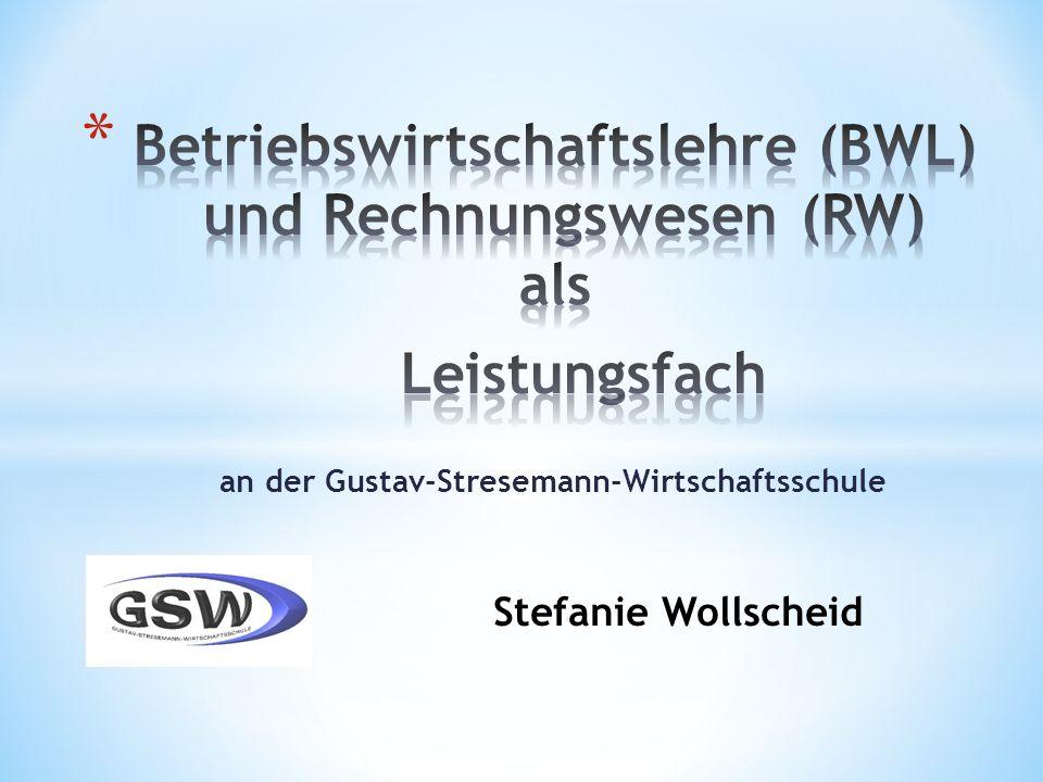 an der Gustav-Stresemann-Wirtschaftsschule