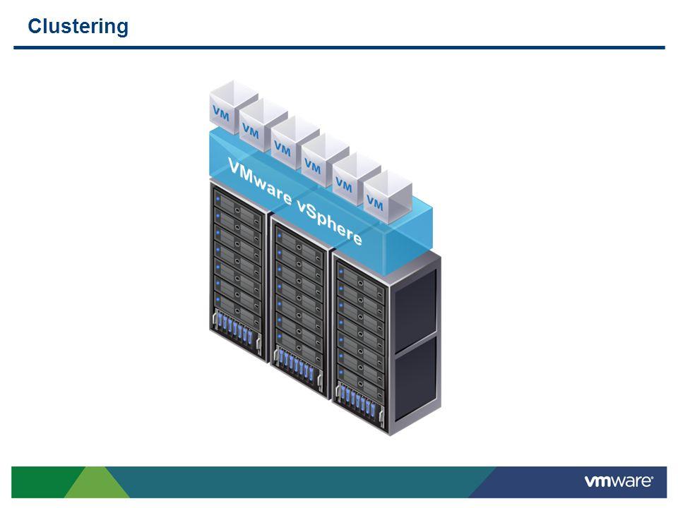Clustering VMware vSphere