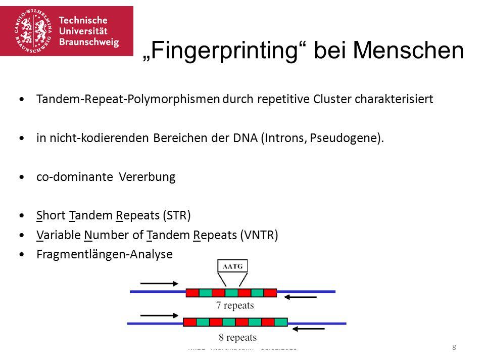 """""""Fingerprinting bei Menschen"""