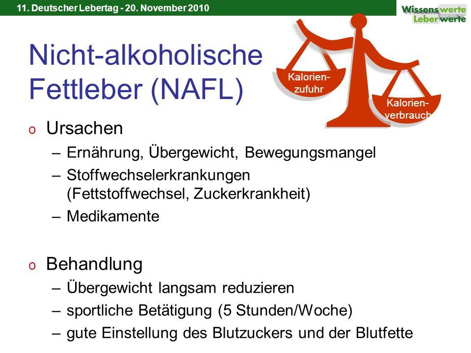 Nicht-alkoholische Fettleber (NAFL)