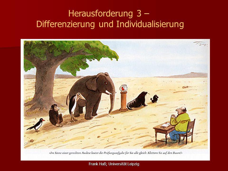 Differenzierung und Individualisierung