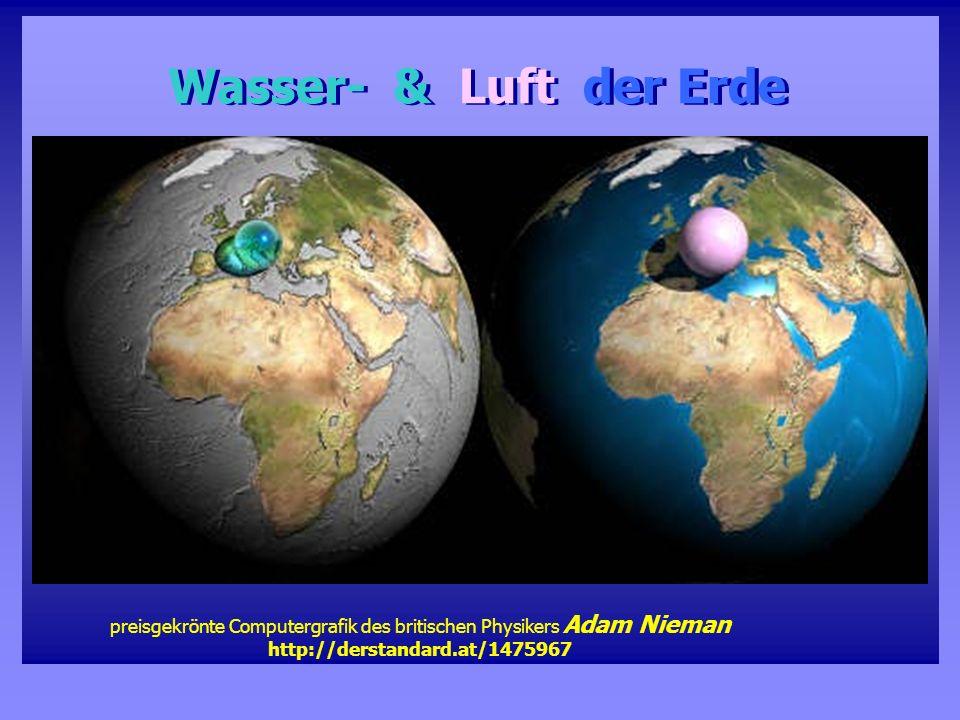 Wasser- & Luft der Erde preisgekrönte Computergrafik des britischen Physikers Adam Nieman http://derstandard.at/1475967.