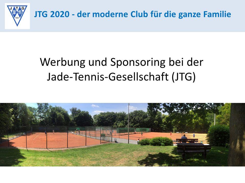 Werbung und Sponsoring bei der Jade-Tennis-Gesellschaft (JTG)