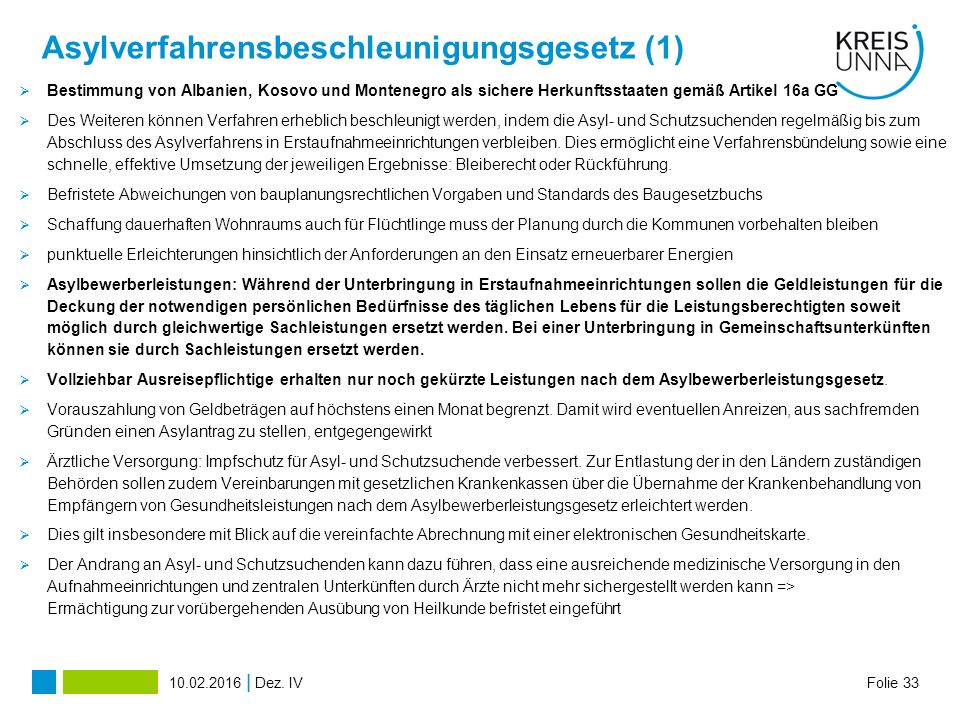 Asylverfahrensbeschleunigungsgesetz (1)