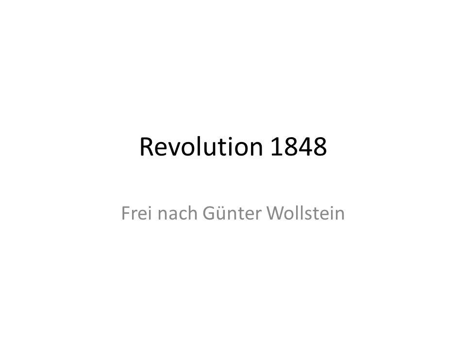 Frei nach Günter Wollstein