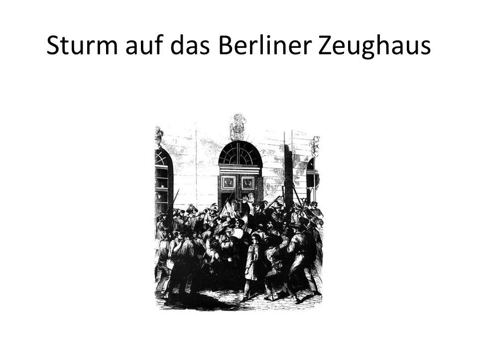 Sturm auf das Berliner Zeughaus