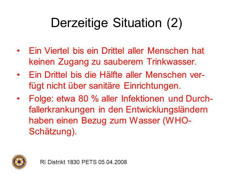 Derzeitige Situation (2)