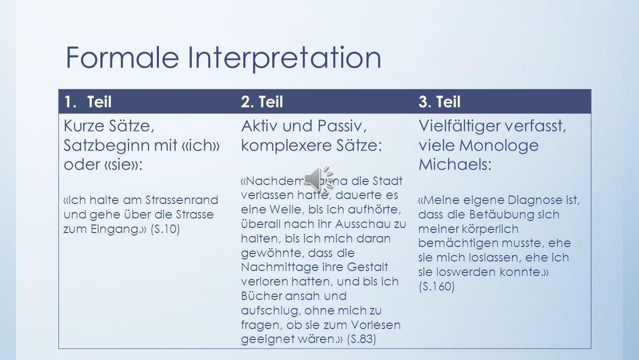 Formale Interpretation