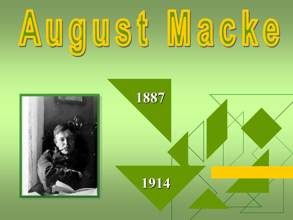 August Macke 1887 1914