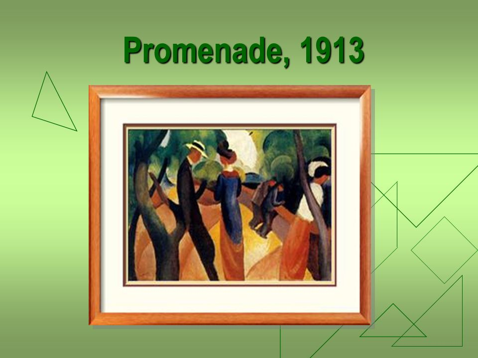 Promenade, 1913