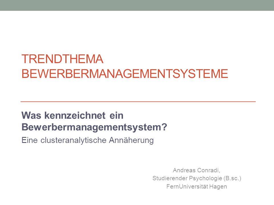Trendthema Bewerbermanagementsysteme