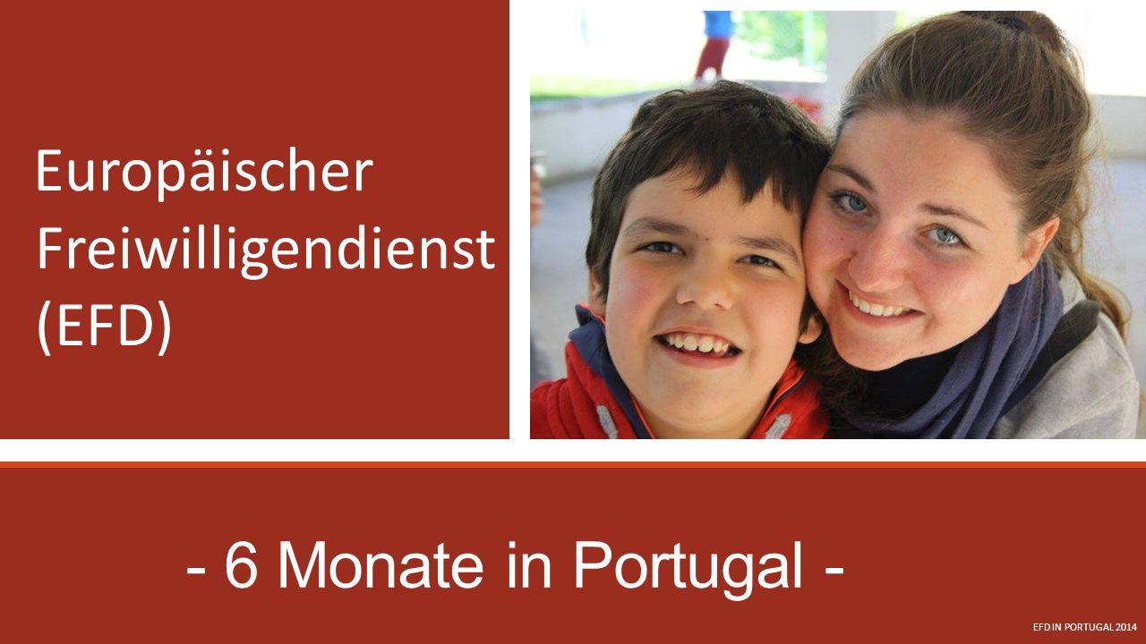 - 6 Monate in Portugal - Europäischer Freiwilligendienst (EFD)