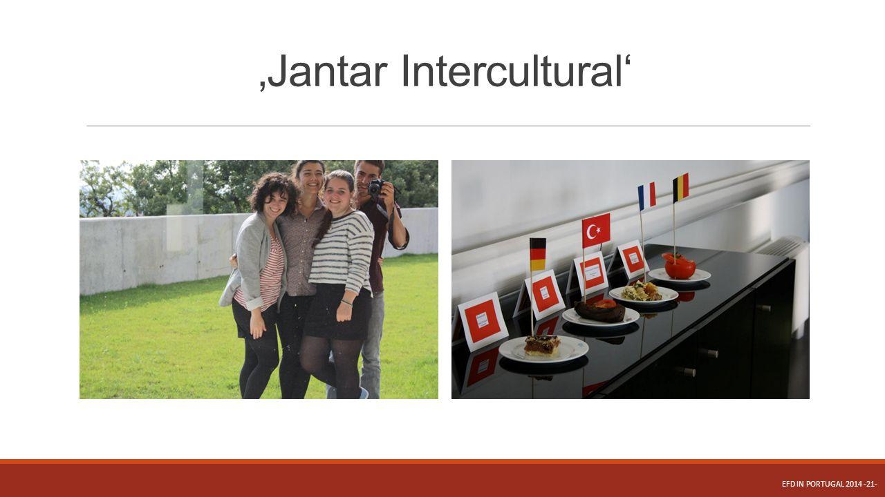 'Jantar Intercultural'