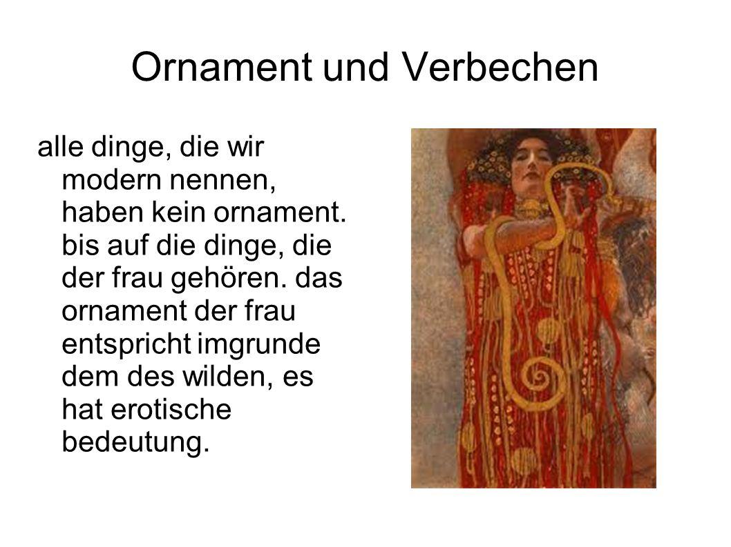 Ornament und Verbechen