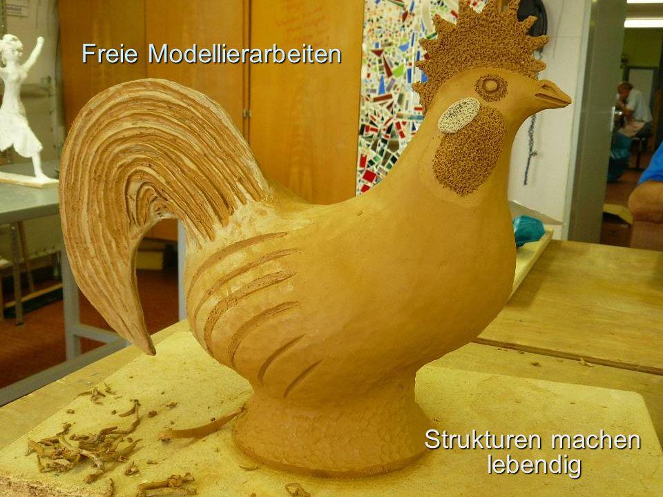 Freie Modellierarbeiten