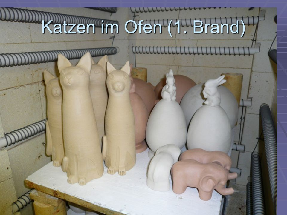 Katzen im Ofen (1. Brand)