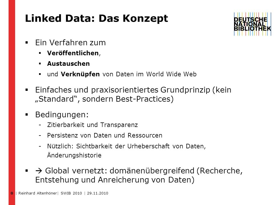 Linked Data: Das Konzept