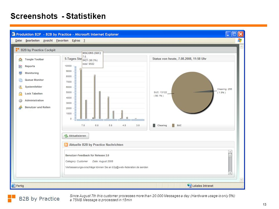 Screenshots - Statistiken