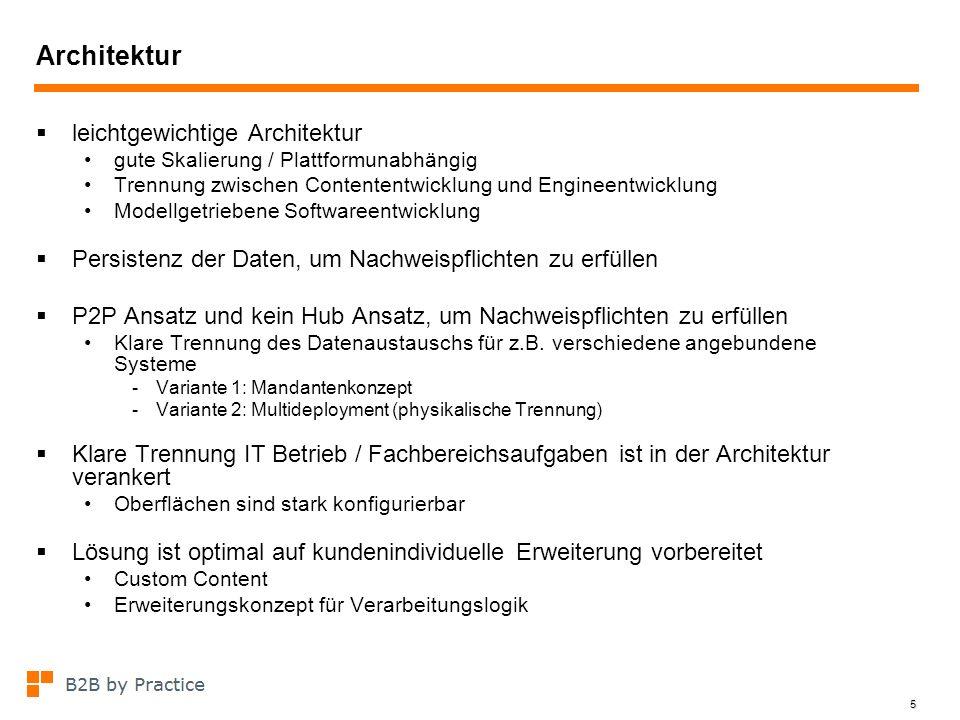 Architektur leichtgewichtige Architektur