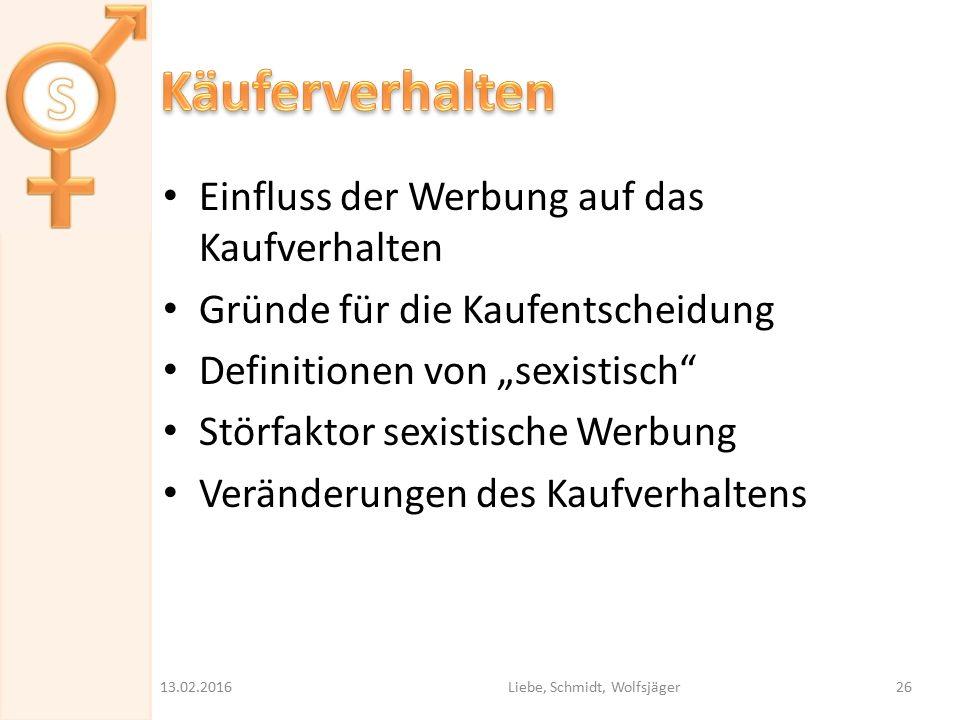Liebe, Schmidt, Wolfsjäger