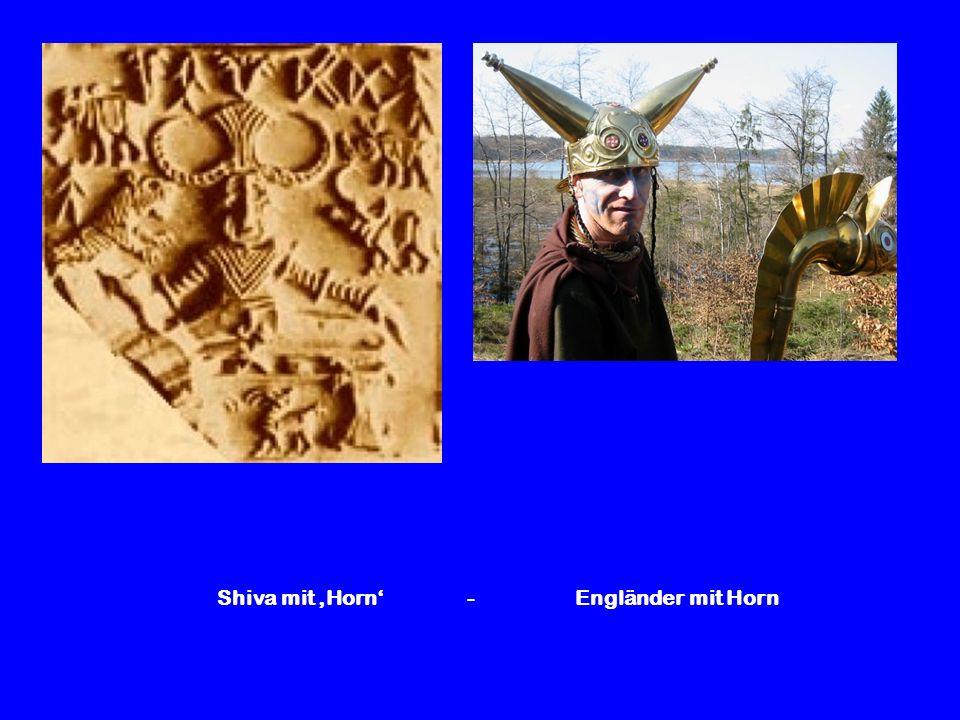 Shiva mit 'Horn' - Engländer mit Horn