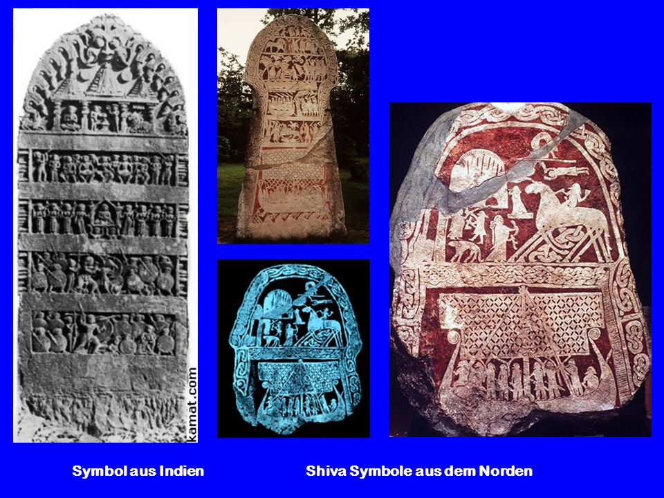 Symbol aus Indien Shiva Symbole aus dem Norden