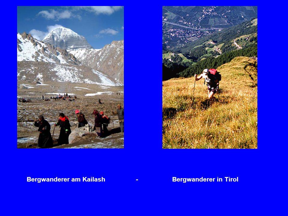 Bergwanderer am Kailash - Bergwanderer in Tirol