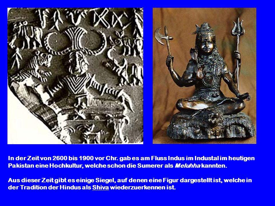 In der Zeit von 2600 bis 1900 vor Chr