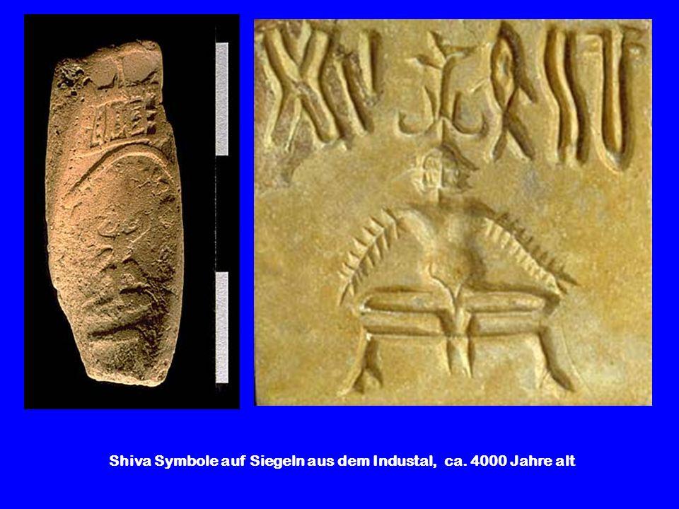 Shiva Symbole auf Siegeln aus dem Industal, ca. 4000 Jahre alt