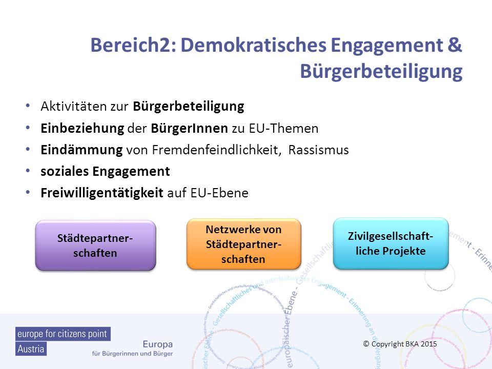 Bereich2: Demokratisches Engagement & Bürgerbeteiligung