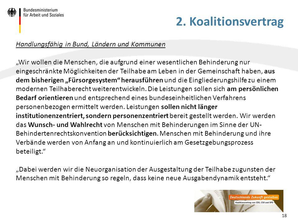 2. Koalitionsvertrag Handlungsfähig in Bund, Ländern und Kommunen