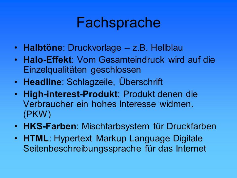 Fachsprache Halbtöne: Druckvorlage – z.B. Hellblau