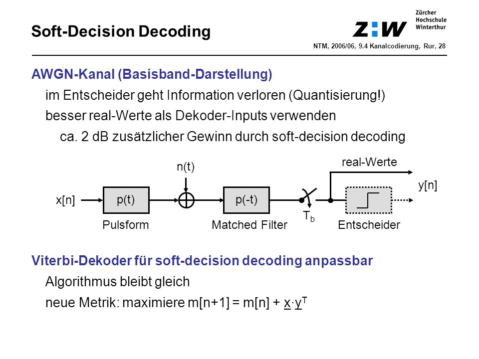 Soft-Decision Decoding