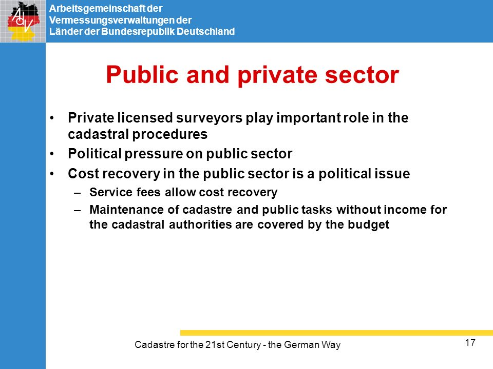 Public and private sector