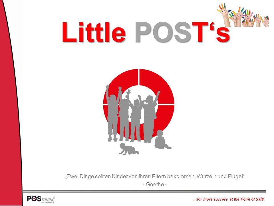 """Little POST's """"Zwei Dinge sollten Kinder von ihren Eltern bekommen, Wurzeln und Flügel - Goethe -"""