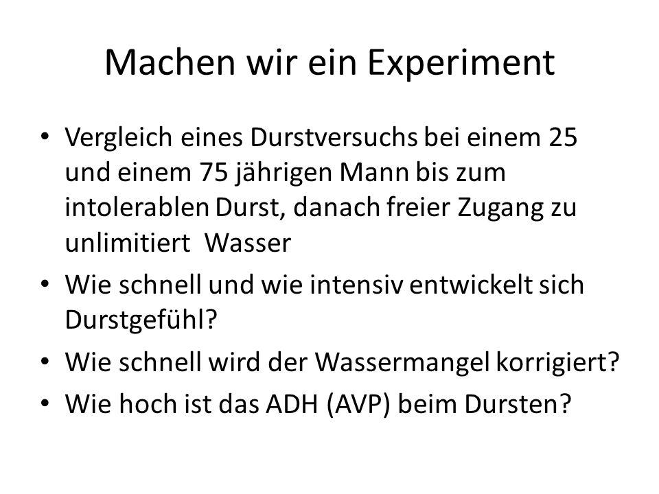 Machen wir ein Experiment