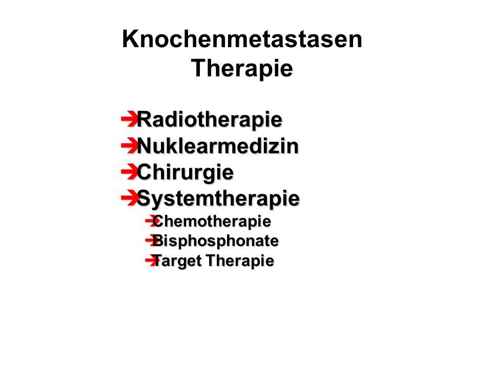 Knochenmetastasen Therapie