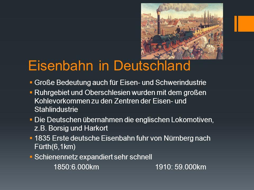Eisenbahn in Deutschland