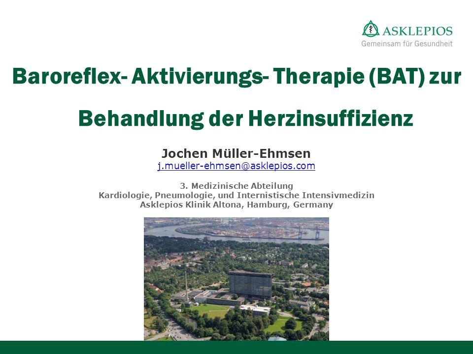 Baroreflex- Aktivierungs- Therapie (BAT) zur Behandlung der Herzinsuffizienz