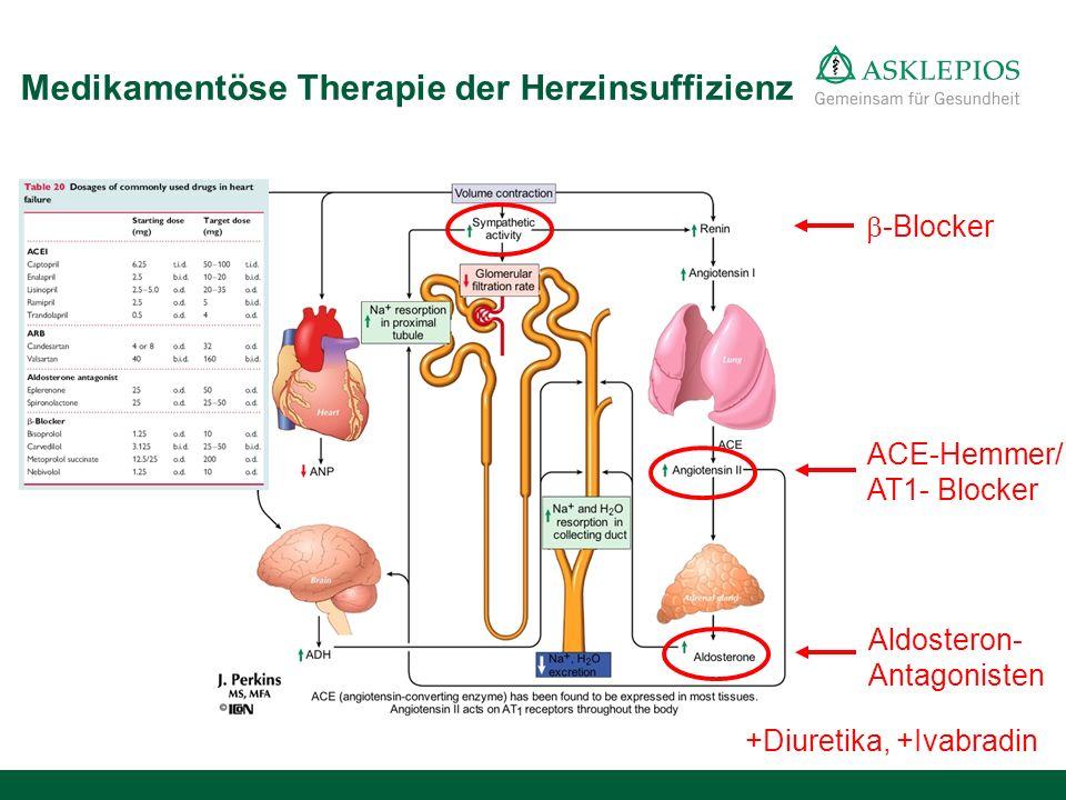 Medikamentöse Therapie der Herzinsuffizienz