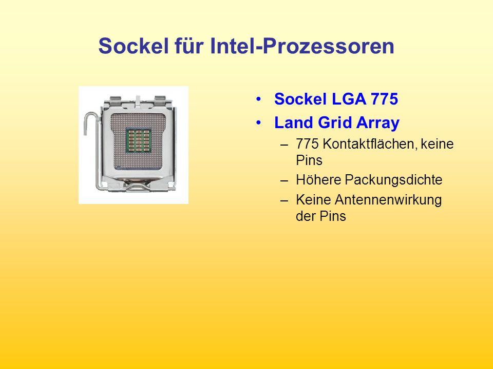 Sockel für Intel-Prozessoren