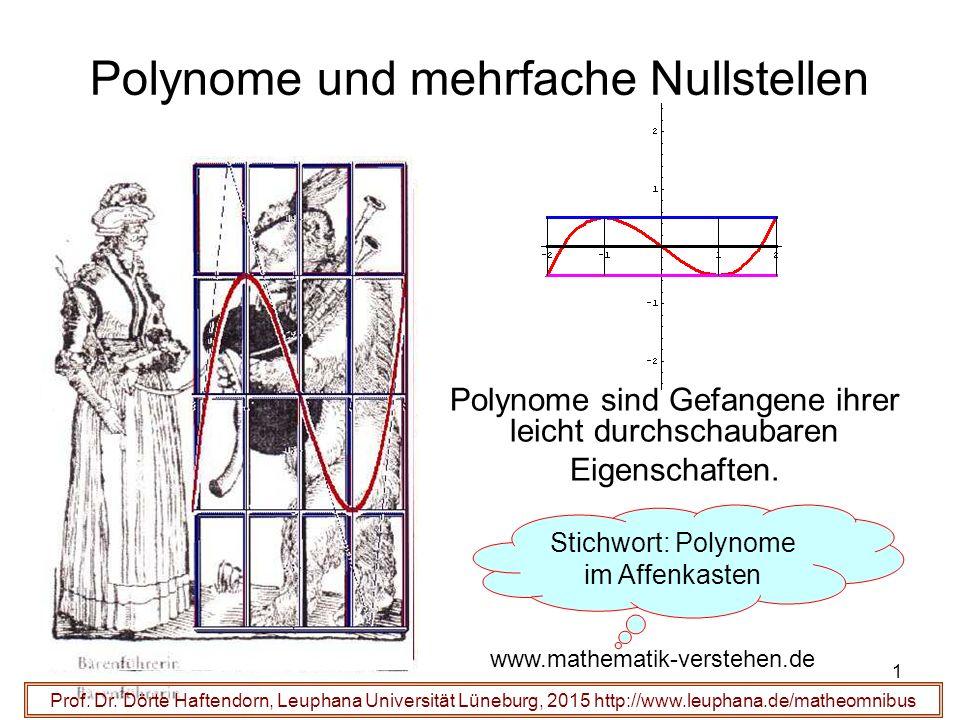 Polynome und mehrfache Nullstellen