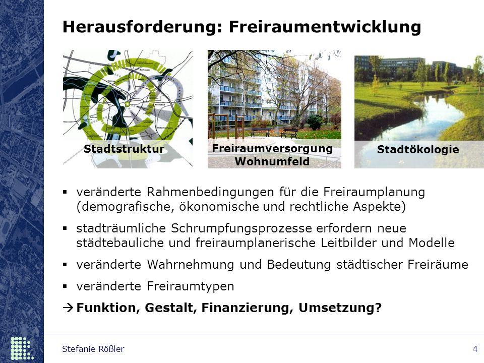 Freiraumversorgung Wohnumfeld