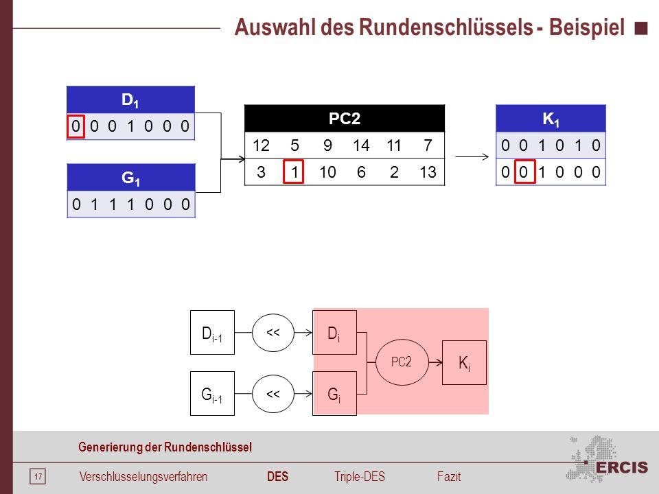 Funktion F Funktion F Verschlüsselungsverfahren DES Triple-DES Fazit