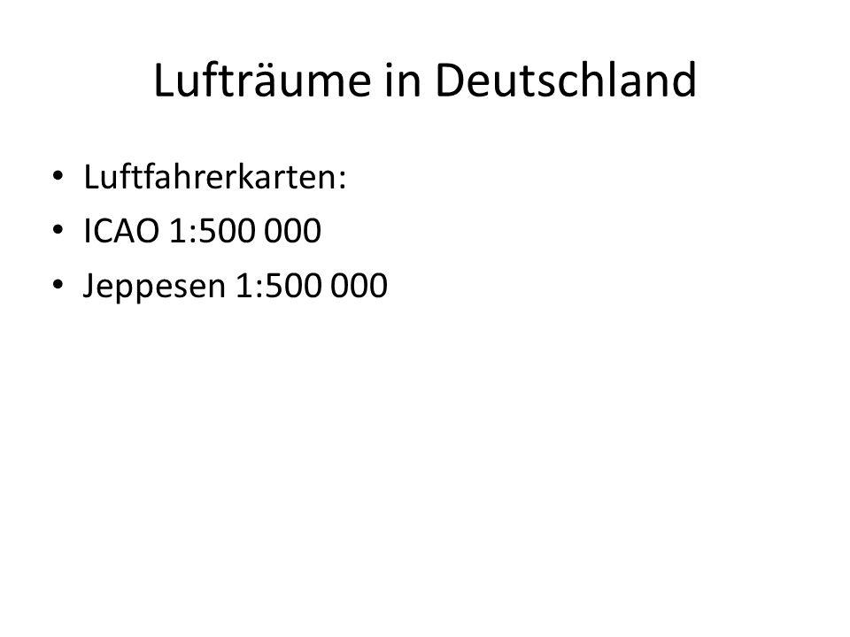 Lufträume in Deutschland