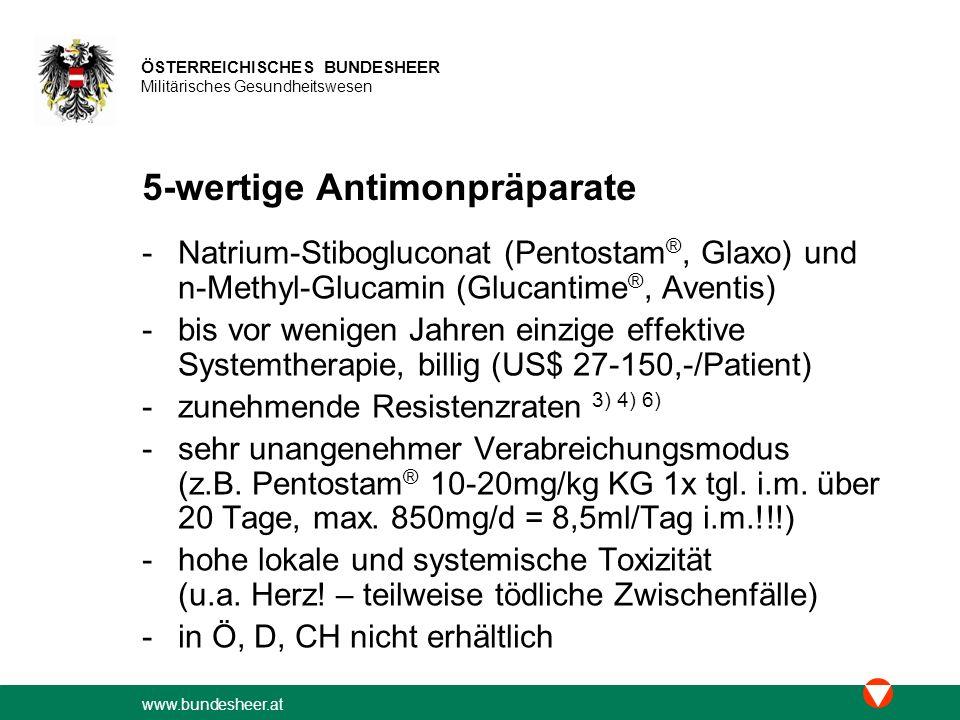 5-wertige Antimonpräparate