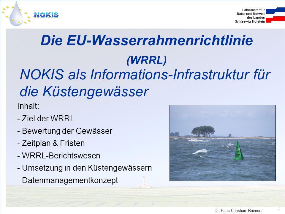 Die EU-Wasserrahmenrichtlinie (WRRL)